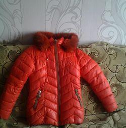 Зимова з капюшоном Розмір десь 44