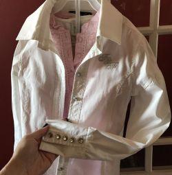 Σχολική μπλούζα, 128-134, 100% βαμβάκι