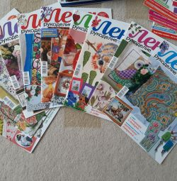 Needlework magazines