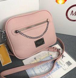 Χειροποίητη τσάντα Michael Kors ροζ