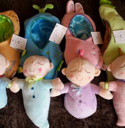 Μαλακές κούκλες μωρών