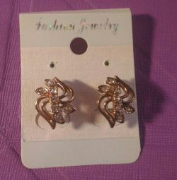 Earrings new, bijouterie