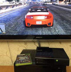 Xbox 500gb корпус E + диск ГТА5