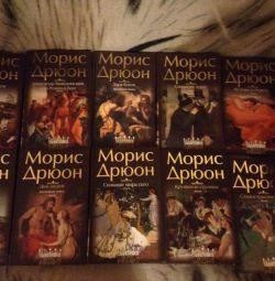 Colecția de cărți Maurice Druon