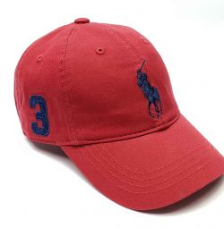 Бейсболка мужская Polo Ralph Lauren 3 (красный)