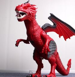 Red Dragon Dragon (mișcare sunet ușor) RS6153