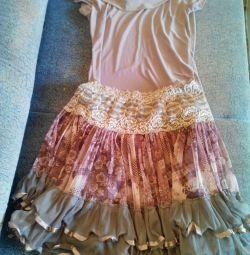 Комплект блузка+юбка