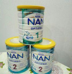 Nan optipro 1 and 2