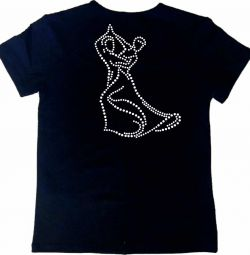 T-shirt for dancing