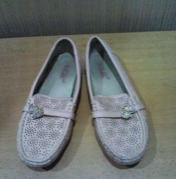 Moccasin pantofi
