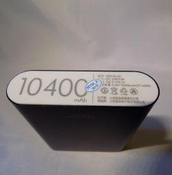 Xiaomi 10400 mah εξωτερική φορητή μπαταρία