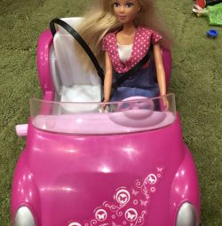 Steffi's car and doll