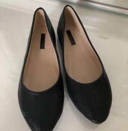 Μπαλέτο παπούτσια νέα χαμένη μελάνι