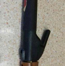 Electrode holder for welding machine