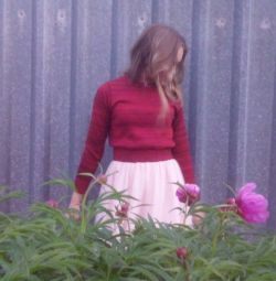 Fusta culoare roz roz