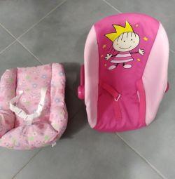 Рюкзак-переноска і автокрісло