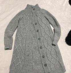 Cardigan (hand knit)