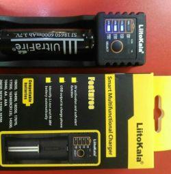 Зарядеое устройство для 18650 аккумуляторов