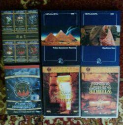 DVD temaları: eski medeniyetlerin bilmeceleri ve sırları.