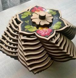 Шкатулка - цветок