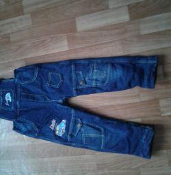 джинси комбенізіон
