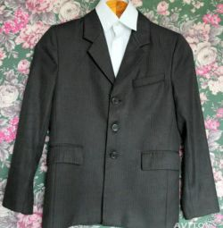 Okul ceket, pantolon ve gömlek