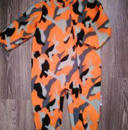 Fleece jumpsuit / outfit 86 r