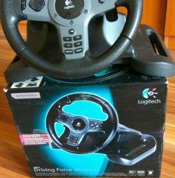 Steering wheel logiteth for PS3