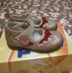 Италия.Красивые,удобные туфли.Размер-23(15см)