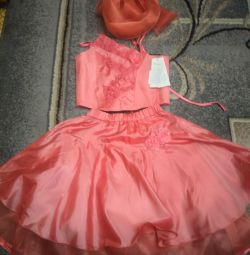 Dress skirt and corset