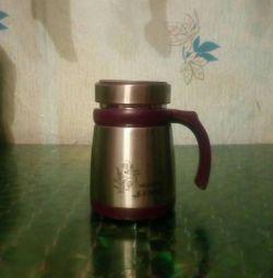 Thermo metal mug