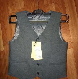 Peplos vest new 128 cm