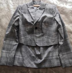 Костюм з йубка і блузка