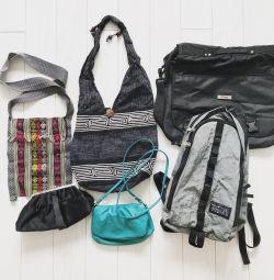 Καλοκαιρινές τσάντες και σακίδιο