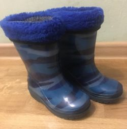 Rubber boots, 24 size