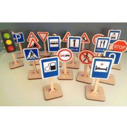Set de indicatoare rutiere
