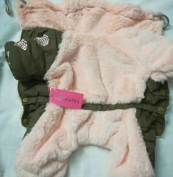 Clothes for dogs., M, ML, L. for GIRL. pink.