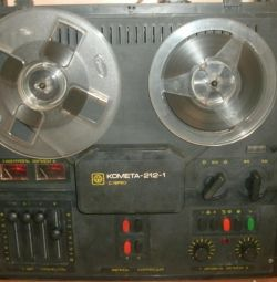 I put the tape recorder comet-212-1 stereo