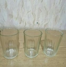Faceted glasses 150 ml., USSR.