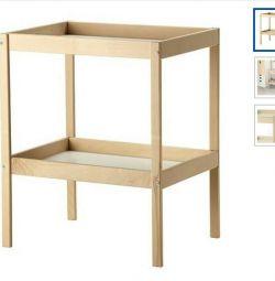 Новый Пеленальный стол Икея + надувная Подстилка