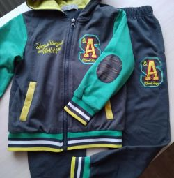 Tracksuit for height 110-116 cm
