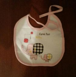 Bib with panty for diaper