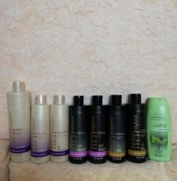 Shampoo, balm, mask, spray