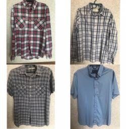 4 shirts