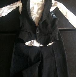 School uniform clothes blouse vest