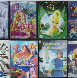 DVD Πήγασος Barbie και νεράιδες Princess Swan Fairies Ratatouille