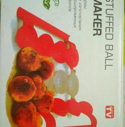 Form of meatballs, stuffed balls