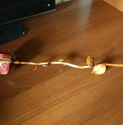 Τριαντάφυλλο ξυλόγλυπτο