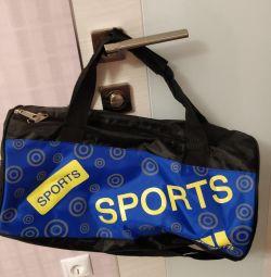 New sports bag