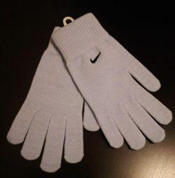Рукавички Nike блакитні. Нові.